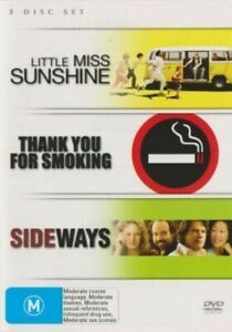 Sideways + Thank You For Smoking + Little Miss Sunshine DVD (SET) 3 Movie Pack