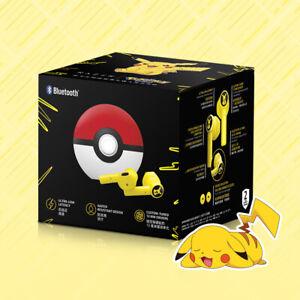 Limited Edition Pokemon Pikachu Bluetooth Headset Wireless Earbuds For Razer