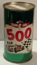 """Very Nice Rare COOK""""S 500 ALE Flat Top Beer Can - Gorgeous - Minty"""