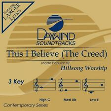 Hillsong Worship - This I Believe (The Creed) - Accompaniment CD New