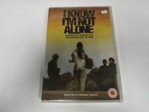 JJ11-  I KNOW IM NOT ALONE  HUMAN COST OF WAR DVD NUEVO PRECINTADO LIQUIDACIÓN!!
