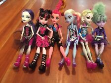 monster high doll lot Of 6