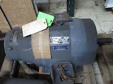 Reuland Electric AC Motor w/ Brake 5/2.5HP 1750/875RPM 460V 7/5A Used