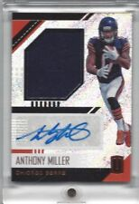 2018 Panini Unparalleled Rookie Jersey Autographs Football Card- Anthony Miller