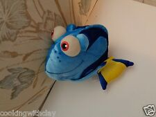 "DISNEY THEME PARK PLUSH DOLL FIGURE FINDING NEMO 11"" DORY BLUE FISH BEANBAG"