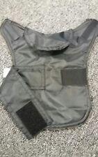 Size XXS Waterproof dog coat. Black with brown   lambswool  fleece inner.