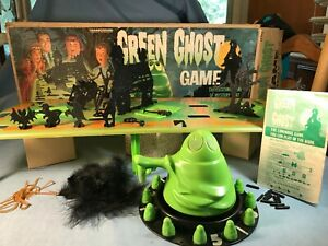 VTG 1965 Transogram Green Ghost Game Glow in Dark in original box near complete