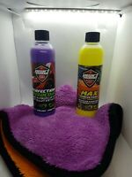 PEARL NANO Spray Wax Shine and Speedcoat Armor Protection + 800gsm towel