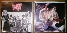 2 x Split 7'EP - PSYCHO/ BLOOD, ROT/ PSYCHO-Flesh and Blood...