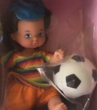 1993 Barbie Li'l Friends Soccer Football doll NRFB Heart Family Foreign Kelly