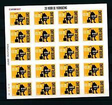 [16624] Netherlands Niederlande 2002 Adress Change €0,39 MS Sheet MNH # 2050