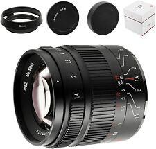 7artisans 55mm F1.4 II V2.0 Portrait Lens For Sony E-Mount Cameras a6300 a6500