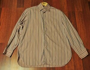 ZILLI Pink Cotton Dress Shirt Made in Italy Size 16.5/42