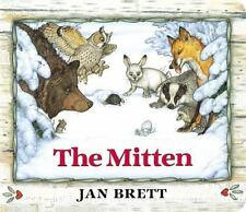 Mitten by Jan Brett c2014 NEW Oversized Board Book