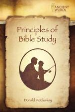Principles of Bible Study : Exploring Beneath the Surface by Donald McCluskey...