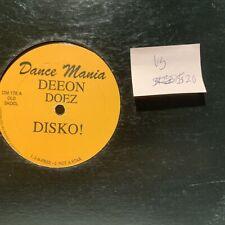"DJ Deeon Doez Disko! Dance Mania 175 VG Freestyle 12"" Single"