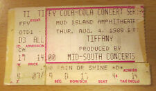 1988 Tiffany New Kids On The Block Memphis Concert Ticket Stub Hangin' Tough