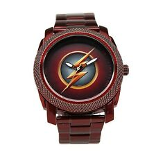 The Flash CW Stainless Steel Red Watch Red