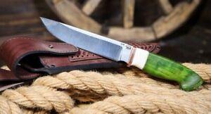 "Handmade  author's S290 tactical survival hunter knife ""Anaconda"" 67-68 HRC"