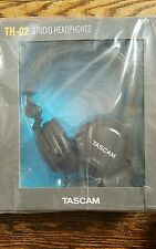 TASCAM Closed-Back Stylish Headphone, Black TH02-B
