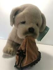 Avanti Baby Animals Plush Bulldog Pup with Shoe/Boot New with Tag
