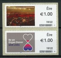 Ireland Medical Stamps 2019 MNH Organ Donor Dail Eireann Parliament 2v S/A Set