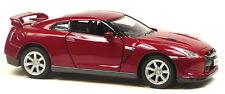 2009 Nissan GT-R R35 dunkelrot ca.1:36 / 12,5 cm Modellauto Neuware von KINSMART