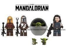 Mandalorian Star Wars Minifigure Mini Fig Fits Lego And Block