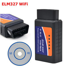 ELM327 V1.5 wifi scanner auto sans fil OBD2 voiture outil de diagnostic pour ios/android