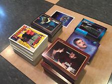 New listing Lot of 1991 - 1993 Star Trek & Starlog trading cards