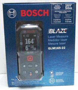 NEW! 2021 Model Bosch GLM165-22 BLAZE 165' Laser Distance Measure  Free Ship