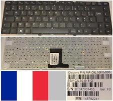 Clavier Azerty Fr SONY VAIO VPC-EA MP-09L16F0-886 148792241 550102L30-515-G Noir