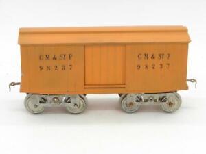Lionel Standard Gauge 14 Box Car 98237 Chicago Minneapolis & ST. Paul Restored