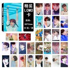 30Pcs /set KPOP Bangtan Boys Album LOVE YOURSELF Answer SUGA Photo Card
