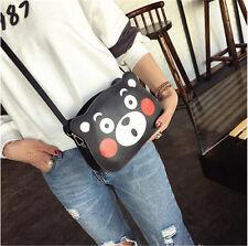 Hot Anime Kumamon Women Handbag PU Shoulder Messenger Bag Purse Wallet Gift