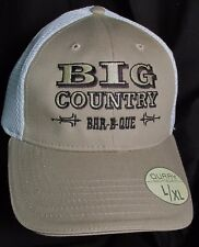 "Big Country Bar-B-Que Colorado  Fitted L/XL apr 7 5/8"" Embroidery Hat Cap New"
