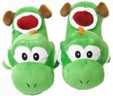 Mario (Green) Slippers Super Mario Brothers Yoshi Plush Slippers
