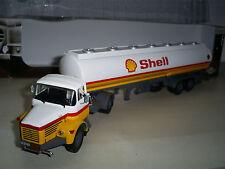 1/43 ALTAYA  camion BERLIET TLR 12 semi citerne SHELL , ixo