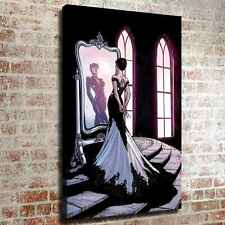 Beautiful catwoman HD Canvas prints Painting Home decor Room Wall art Picture