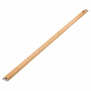 Sew Easy Metre Long Wooden Ruler Stick - Metric & Imperial