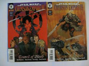Star Wars Crimson Empire II; Council of Blood  # 1-6 (Dark Horse 1998) VF+/NM