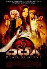 DOA: DEAD OR ALIVE Movie POSTER 27x40 Jaime Pressly Holly Valance Sarah Carter