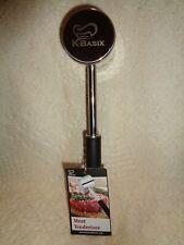 K-Basix Meat Tenderizer Hammer Mallet Double Sided Heavy Duty Stainless Metal US