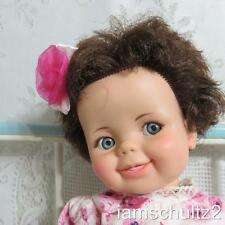 """1960's ~ Vintage 1968 IDEAL 16"""" Giggles Baby Doll with Flirty Googly Eyes"""