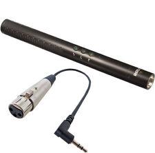 Rode NTG-4 Richtmikrofon+KEEPDRUM MC-025XJ Mikrofonkabel XLR3F 3,5mm TRS Stecker