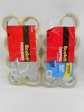 3m Scotch Packaging Tape8 And Heavy Duty Shipping Tape7 15 Total