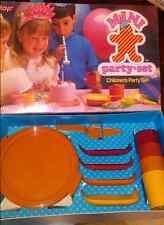 Tupperware Kids Tuppertoys Mini Party Cake Taker, Plates Tumblers Set in Box New