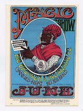 Family Dog 65 Aunt Jemima Postcard Otis Rush & his Blues Band 1967 Jun 8