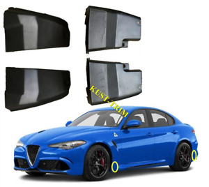 For Alfa Romeo Giulia 952 2017-2018 Mud Flap Flaps Splash Guards Mudguards 4PCS