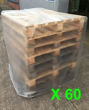 60 Excellent Shrink Quality Heavy Duty Pallet Covers To Fit 1.2M x1M x1.2M High